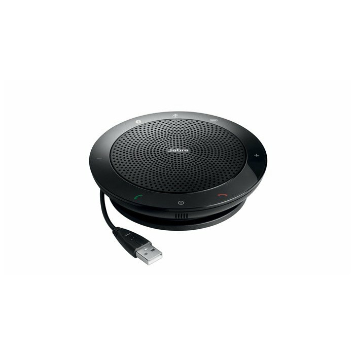 Jabra Speak 510 MS speakerphone Universal Black USB/Bluetooth