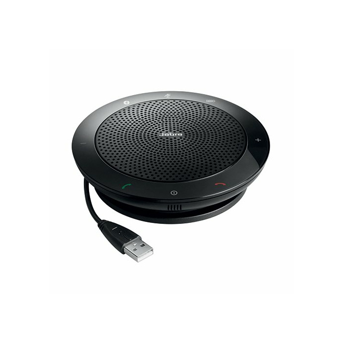 Jabra SPEAK 510+ UC speakerphone Universal Black USB/Bluetooth
