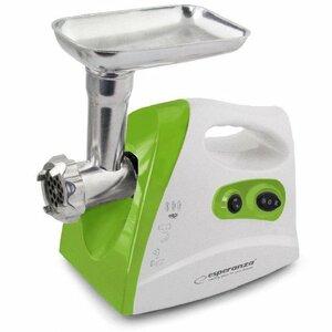Esperanza EKM012G meat grinder - MEATBALL - WHITE-GREEN
