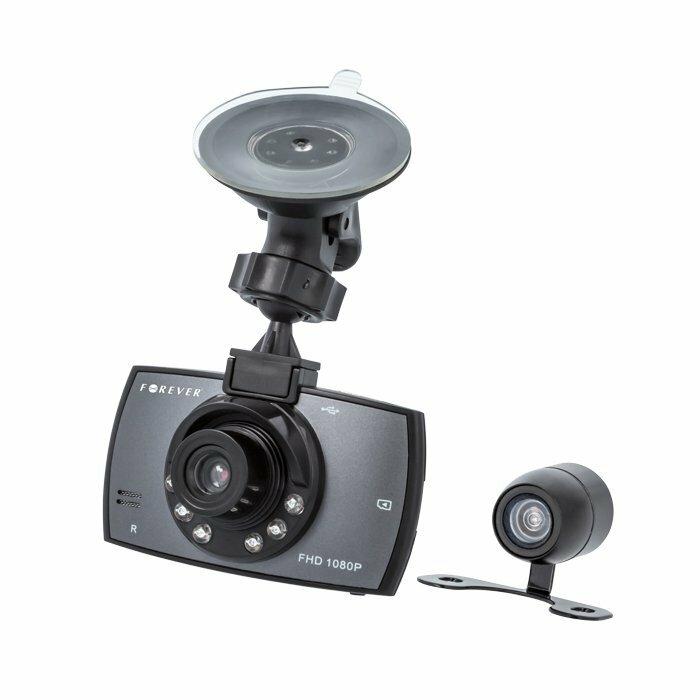 FOREVER VR-200 Car video recorder Full HD / microSD / LCD 2.7'' + Holder