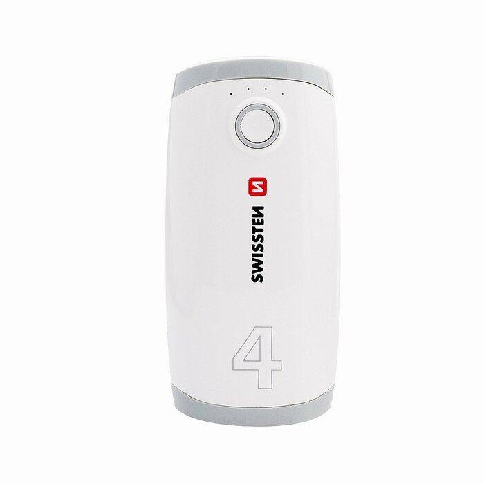 Swissten Premium Recovery Power Banka Universāla Ārējas uzlādes batereja 1А / USB / 4000 mAh Balta