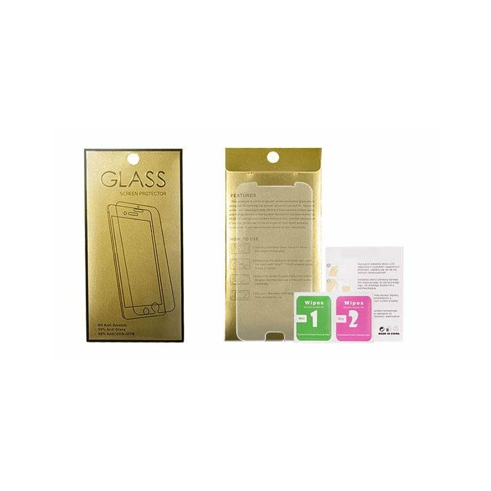 Tempered Glass Gold Aizsargstikls Apple iPhone 4 / 4S