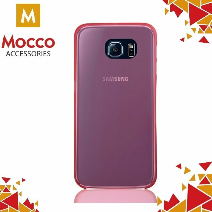 Mocco Ultra Back Case 0.3 mm Aizmugurējais Silikona Apvalks Priekš Samsung J120 Galaxy J1 (2016) Rozā