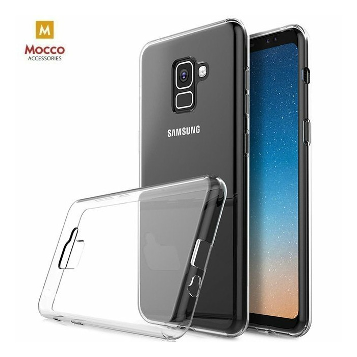 Mocco Ultra Back Case 0.3 mm Aizmugurējais Silikona Apvalks Priekš Samsung J320 Galaxy J3 (2016) Caurspīdīgs