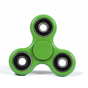 Mocco Fidget Spinner Anti - Stresa Ierīce / Roku un Pirkstu Trenažieris Zaļa