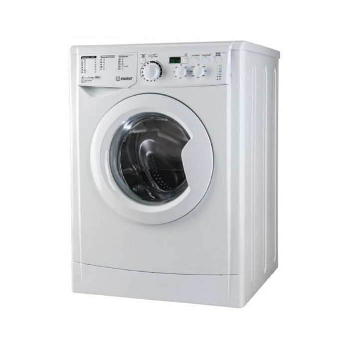 Washing machine INDESIT EWD71051WEU 7 kg, 1000 aps./min, A+ 54 cm small LED screen