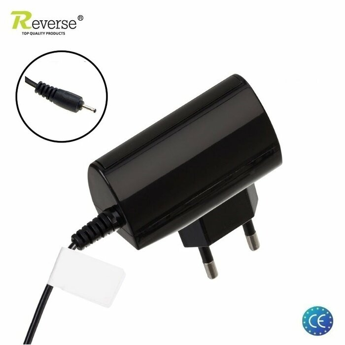 Reverse RTC-1N3E Analog AC-3E Nokia 2mm Connector 560mAh Travel Charger for  Nokia C5 N8 E51 (Euro CE) Black