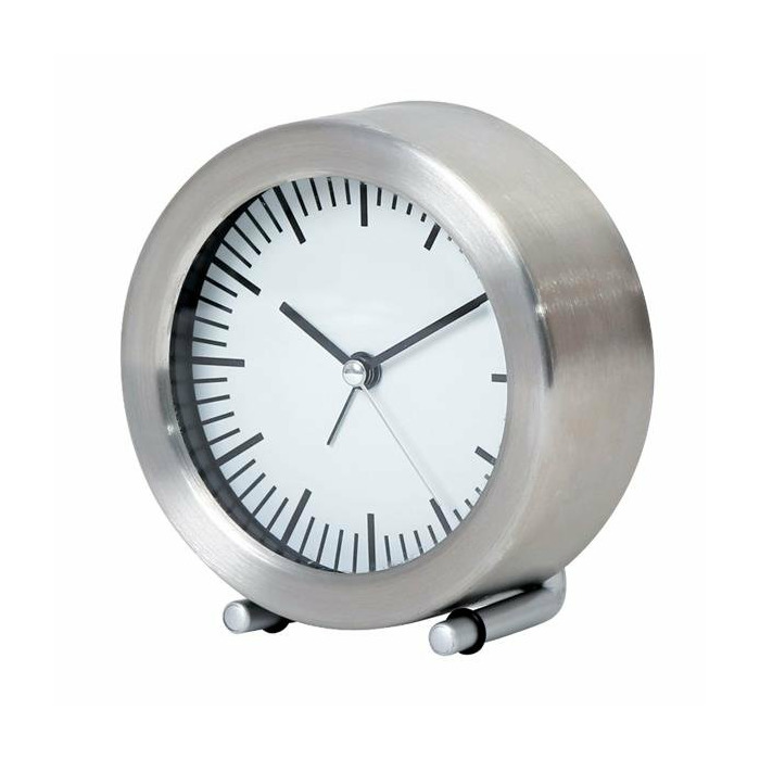 Platinet PZASS alarm clock Mechanical alarm clock Stainless steel