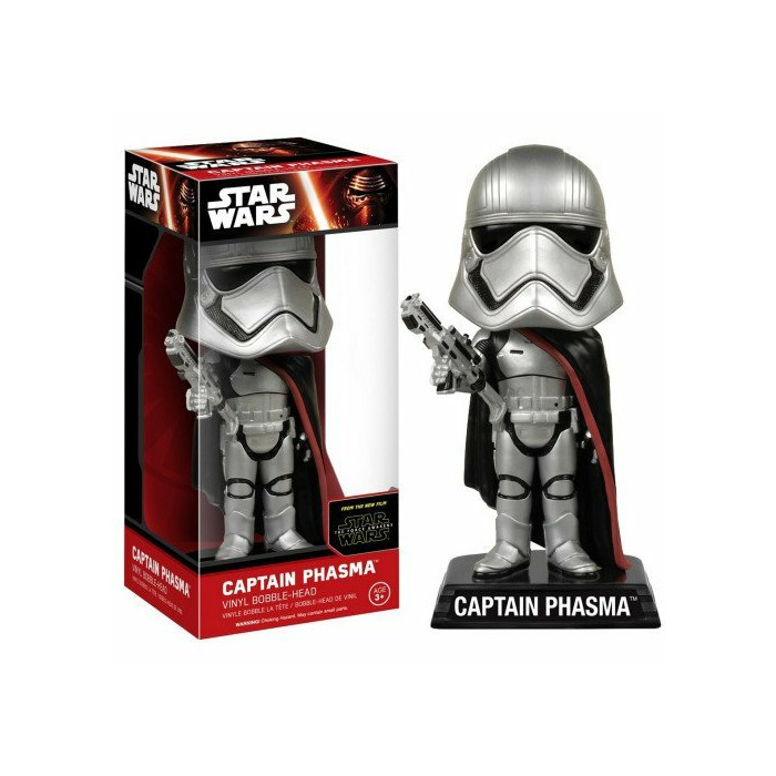 Wacky Wobbler: Star Wars - Captain Phasma Vinyl Bubble-Head