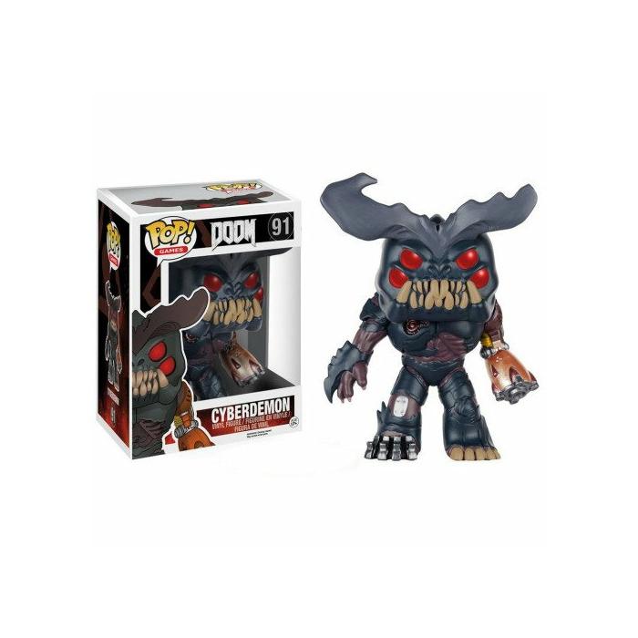 POP! Games: Doom - Cyberdemon Vinyl Figure, 25cm