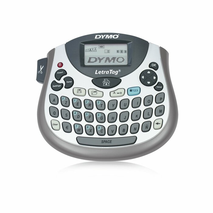 DYMO LetraTag LT-100T + Tape label printer Direct thermal 180 x 180 DPI AZERTY