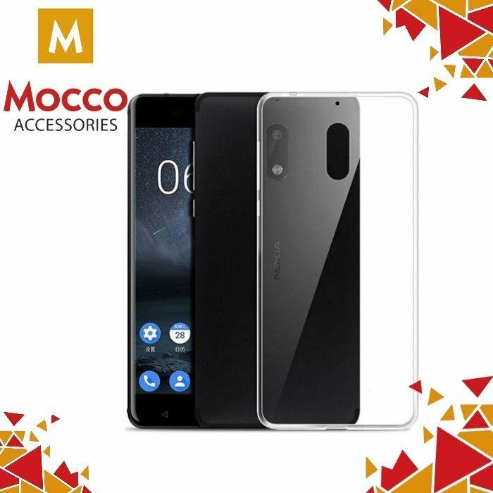 Mocco Ultra Back Case 0.3 mm Aizmugurējais Silikona Apvalks Priekš Nokia 3 Caurspīdīgs