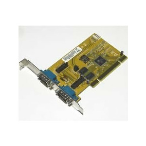 EX-43092-S 2x Universal PCI Serial RS-232 card 32-Bit