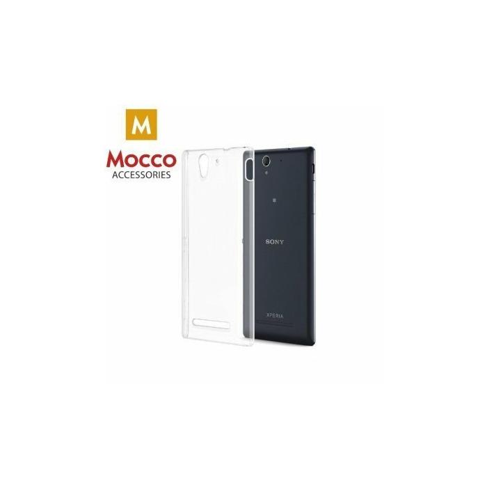 Mocco Ultra Back Case 0.3 mm Aizmugurējais Silikona Apvalks Priekš Sony Xperia Z5 Compact / Mini Caurspīdīgs