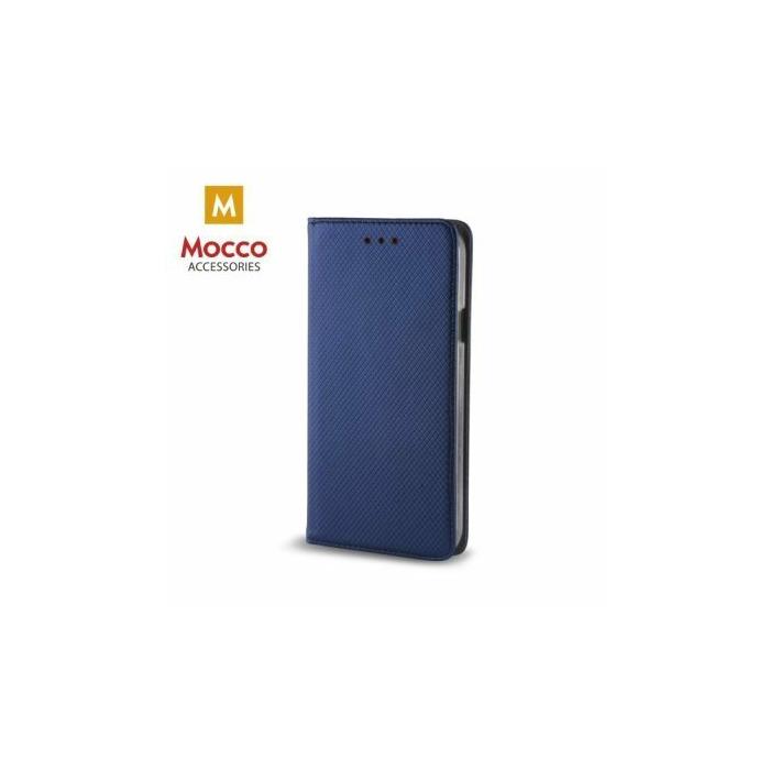 Mocco Smart Magnet Book Case Grāmatveida Maks Telefonam Samsung G390 Galaxy Xcover 4  Zils