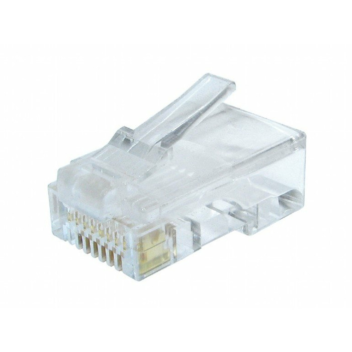 Gembird LC-8P8C-002/10 wire connector RJ-45 Transparent