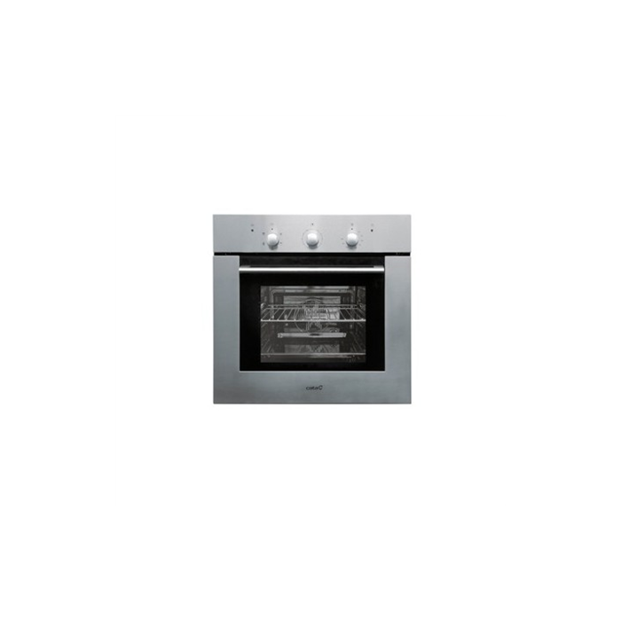 CATA Multifunctional Oven HORNO ME 605 IX  Built-in, 50 L, Stainless Steel and Black Crystal Finish, Easy clean system, Mecahnical, Height 59,2 cm, Width 60 cm, Integrated timer