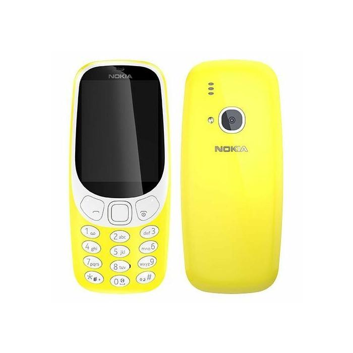 Nokia 3310 Dual Sim yellow ENG/RUS