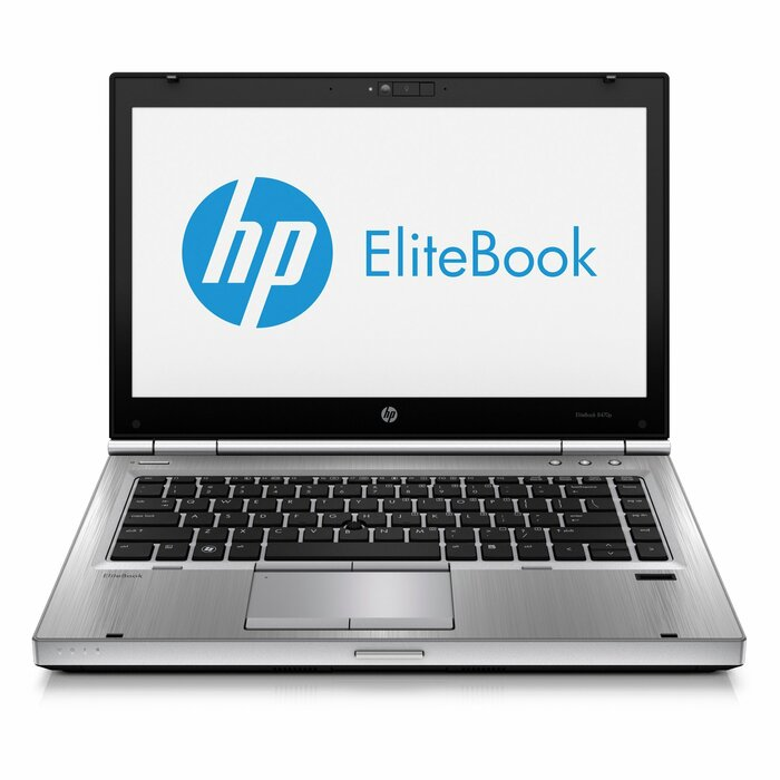 "HP EliteBook 8470p 14"" HD+ i5-3380M, 8GB RAM, 256GB SSD, DVDRW, Windows 10 Professional"