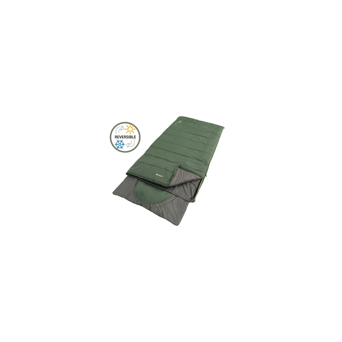 Outwell Contour Lux XL Sleeping bag, Green