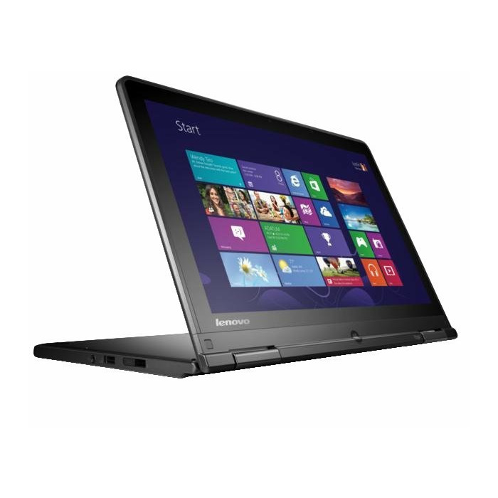 "Lenovo ThinkPad Yoga Yoga 1.7GHz i5-4210U 12.5"" 1920 x 1080pixels Touchscreen Black Notebook"