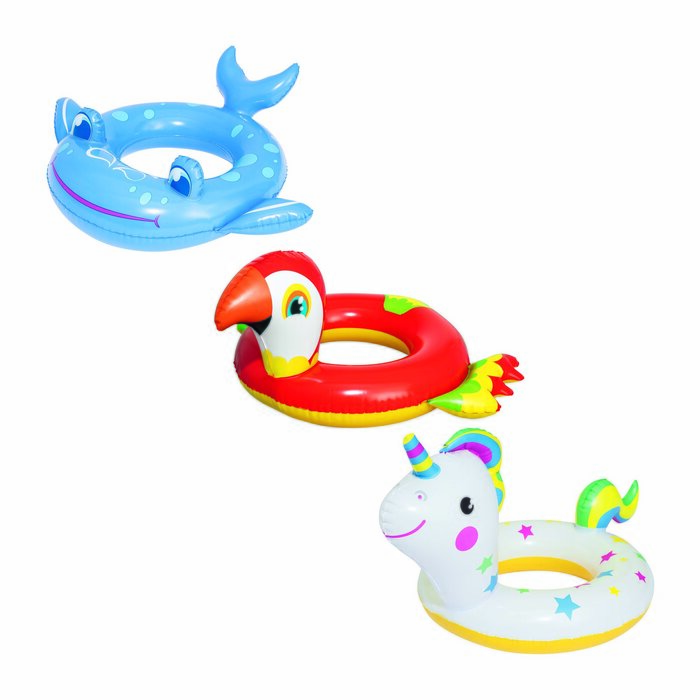 BESTWAY Inflatable swimm ing wheel Animals