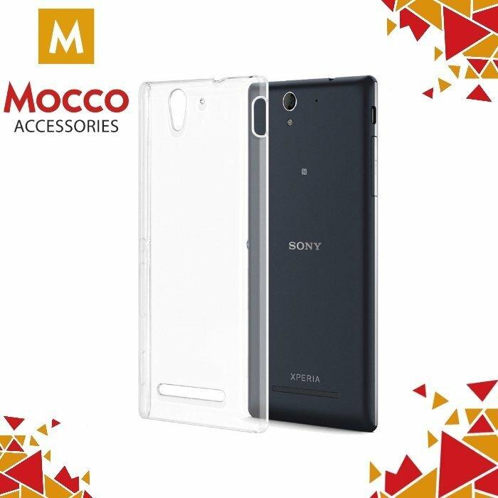 half off 247d4 8cf0b Mocco Ultra Back Case 0.3 mm Silicone Case for Sony Xperia C5 / C5 Ultra  (E5553, E5506) Transparent