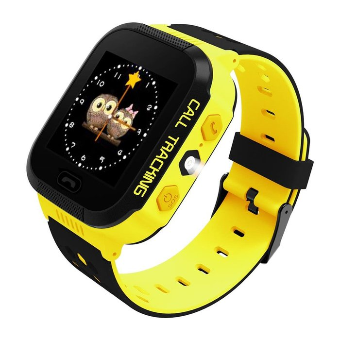 ART Watch Phone Go with locater GPS - Flashlight Yellow
