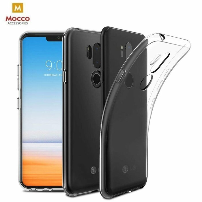 Mocco Ultra Back Case 0.3 mm Aizmugurējais Silikona Apvalks Priekš LG K130 K4 (2017) Caurspīdīgs