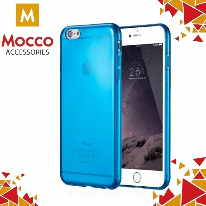 Mocco Flexmat Ultra Back Case 0.3 mm Aizmugurējais Silikona Apvalks Priekš Apple iPhone 7 / 8 Zils