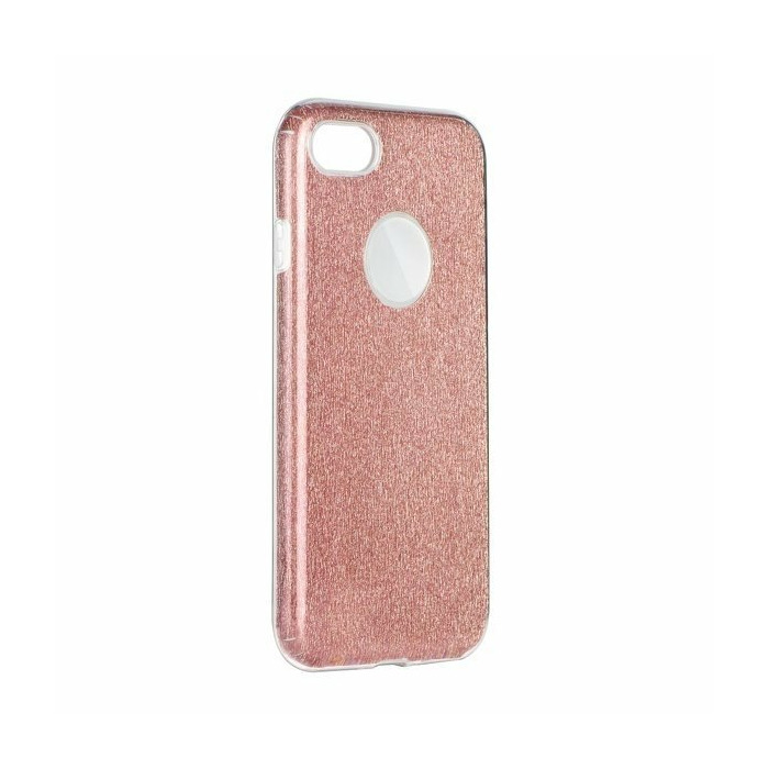 Mocco Shining Ultra Back Case 0.3 mm Aizmugurējais Silikona Apvalks Priekš Samsung G955 Galaxy S8 Plus Roza