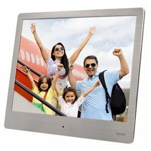 "Hama 00118560 digital photo frame Silver 20.3 cm (8"")"