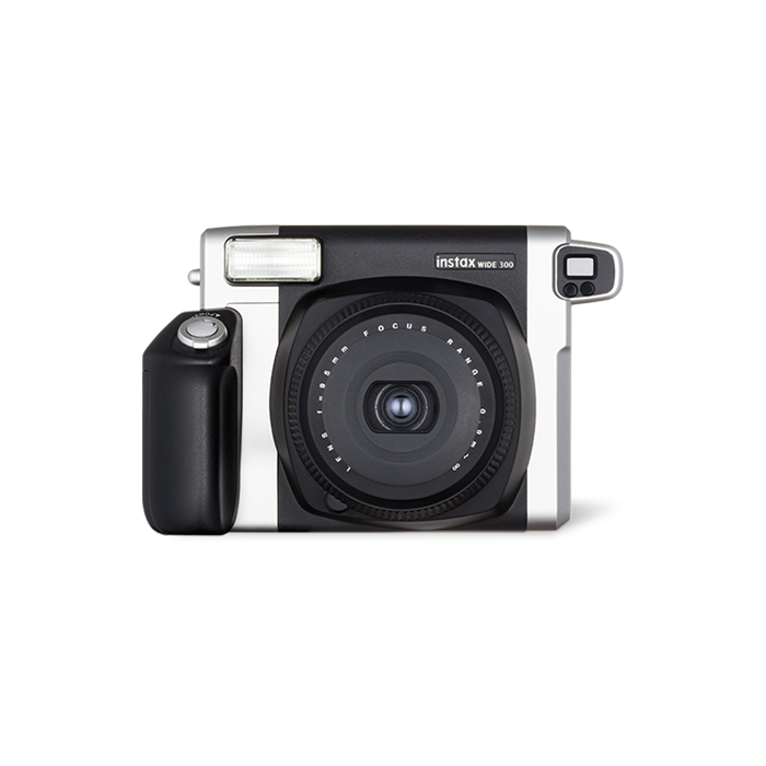 Fujifilm Instax Wide 300 camera + Instax mini glossy (10)  Black/White
