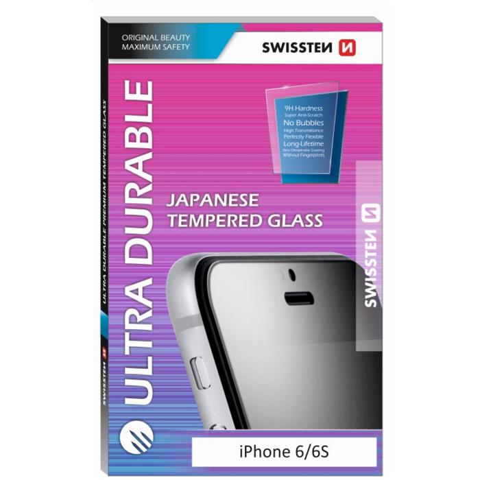 Swissten Ultra Durable Japanese Tempered Glass Premium 9H Aizsargstikls Apple iPhone 7 Plus