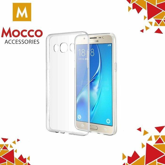 Mocco Ultra Back Case 0.3 mm Aizmugurējais Silikona Apvalks Priekš Samsung G530 Galaxy Grand Prime Caurspīdīgs