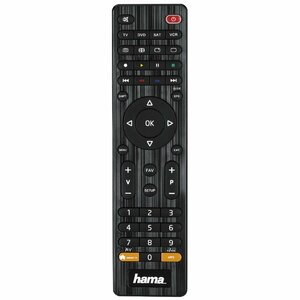 Hama 00012306 remote control IR Wireless DVD/Blu-ray, STB, TV, VCR Press buttons