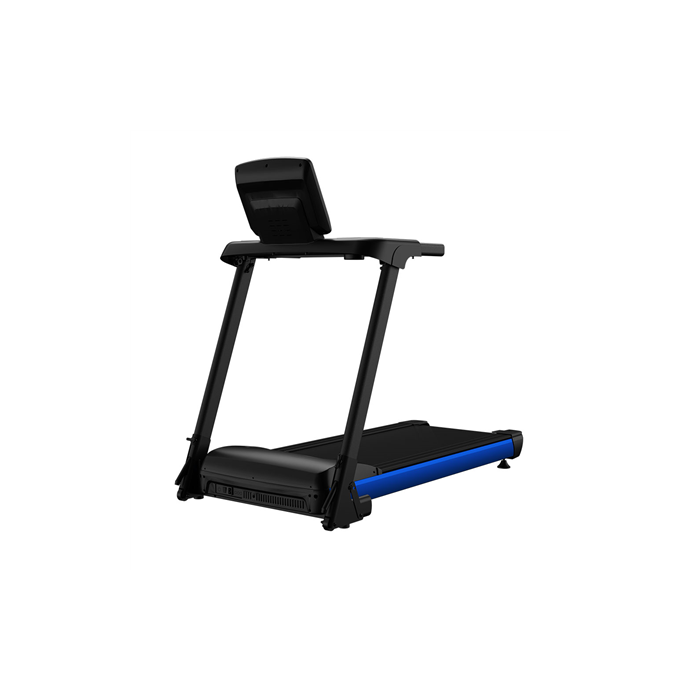 WNQ F1-2000M Foldable Home Use Treadmill, Wireless heart rate test, 100 kg, 1.HP - 1.5HP MAX, Matt Black