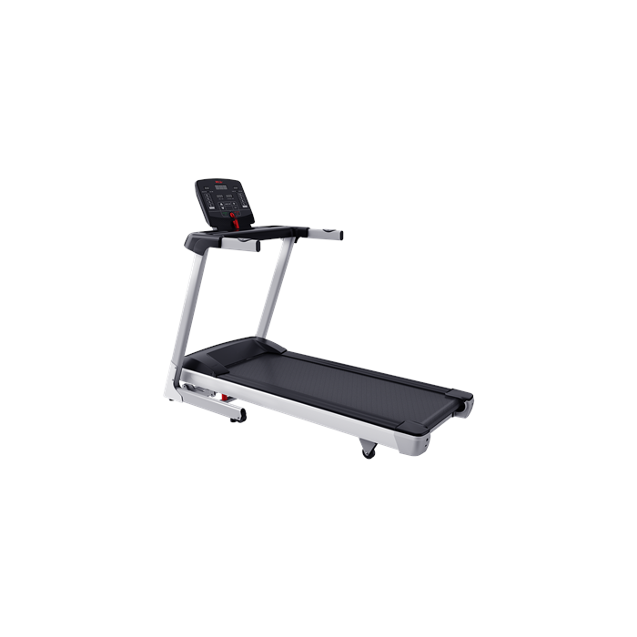 WNQ F1-4000A Home Use Treadmill, Handhold Sensor; Slope range: 0-10%, 120 kg, 1.5 HP - Max 2.5 HP, Silver, LED display