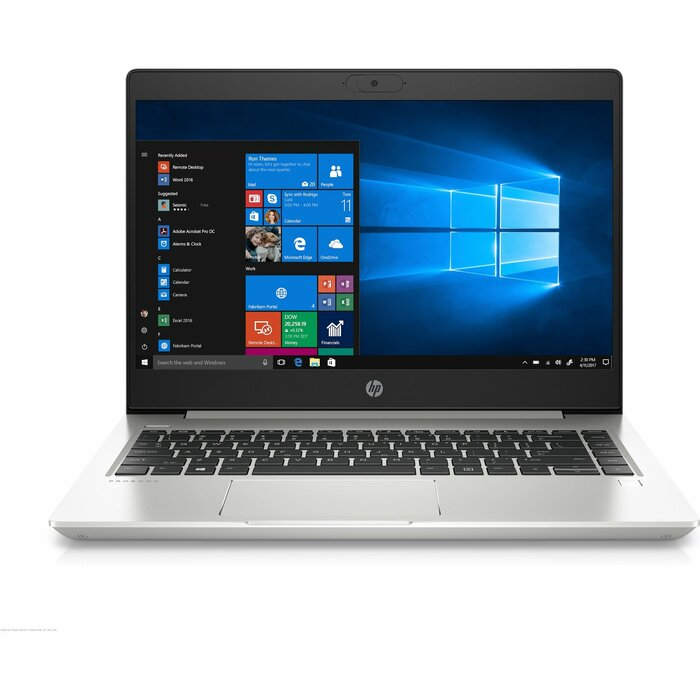 "HP ProBook 440 G7 Notebook 35.6 cm (14"") 1920 x 1080 pixels 10th gen Intel® Core™ i5 8 GB DDR4-SDRAM 256 GB SSD Wi-Fi 6 (802.11ax) Windows 10 Pro Silver"
