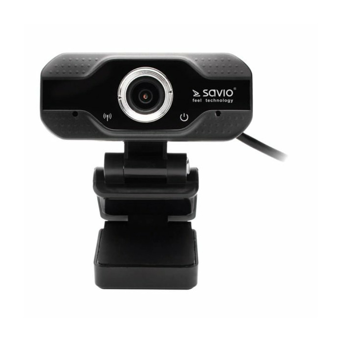 Savio CAK-01 webcam 1920 x 1080 pixels USB Black