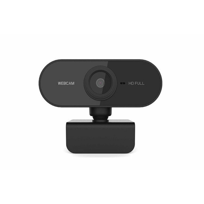Web camera FULL HD 2MPX USB E-Learning Black Microphone