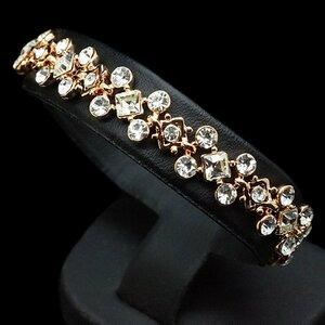 "Bracelet ""Versailles"" with crystals from Swarovski™"