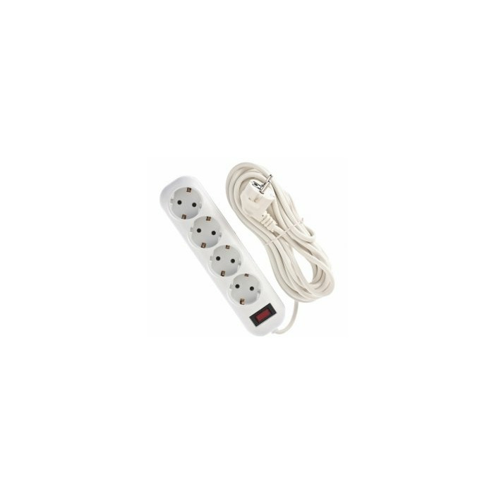 Bellight Extension cord with 4 sockets  3m