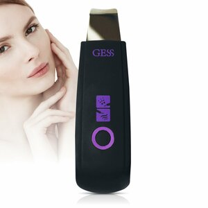 GESS YOU Ultrasonic Facial Cleansing Device, Skin Scrubber, Blackhead Remover, Rechargeable