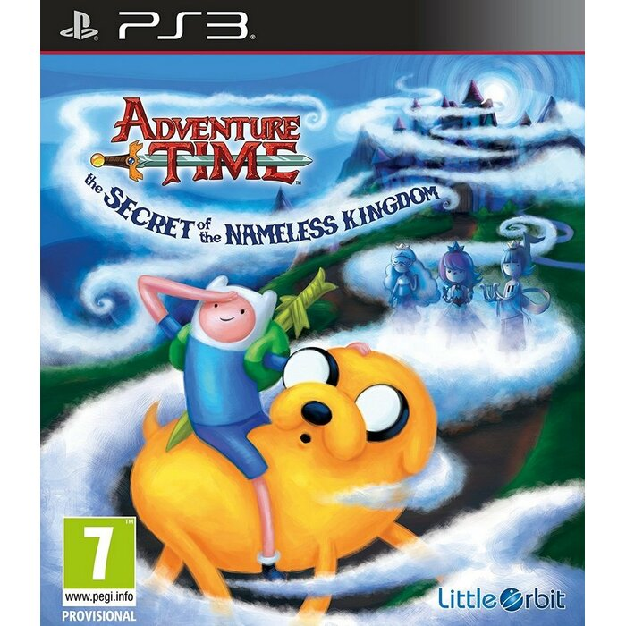 PS3 Adventure Time: The Secret of the Nameless Kingdom