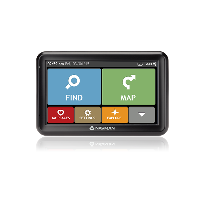 NAVMAN 5000 LM Car Navigation FULL EUROPE 7PPC INC LIFETIME MAPS - R2