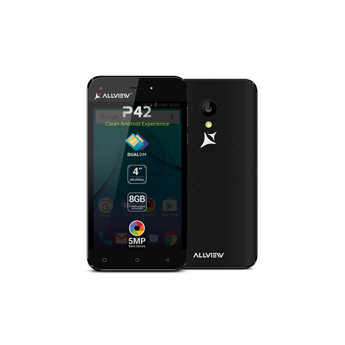 Allview P42 Black 8 GB Dual SIM