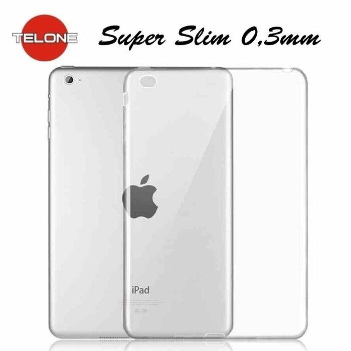 Telone Ultra Slim 0.3mm Back Case Apple iPad Mini 4 super plāns planšetdatora apvalks Caurspīdīgs