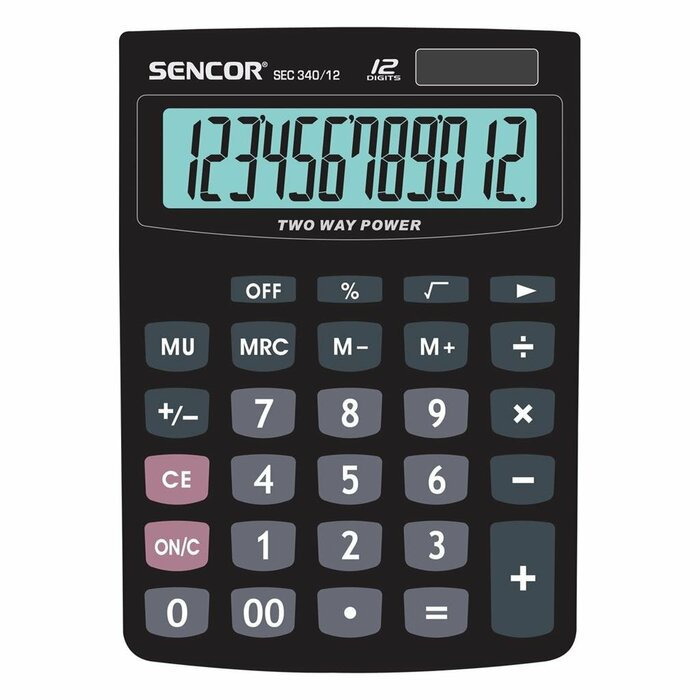 Calculator Office SENCOR SEC 340/12