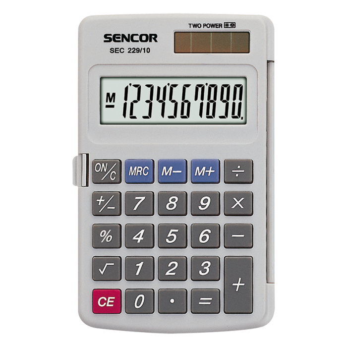 Handheld Calculator SENCOR SEC 229/10